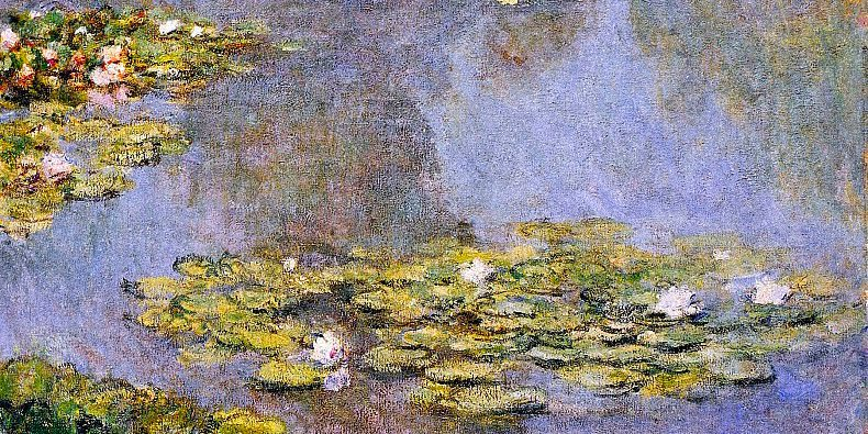 Water Lilies by Claude Monet <br>http://pic.twitter.com/ZfcLPpFBZi