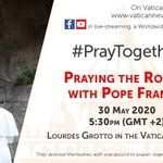 Image for the Tweet beginning: #PrayTogether