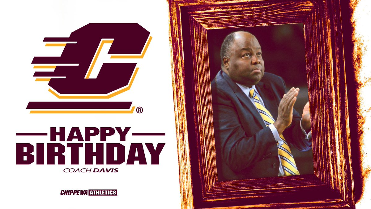 Happy Birthday, Coach Davis! Have a great day 🎉   #FireUpChips