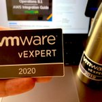 7 years in a row as #vExpert and nothing better to celebrate it than add new wonderful sticker by @VirtualG_UK THANK YOU SO MUCH!!!! #VMCemeaCS #vExpert #VMConAWS @vmwarecloudaws @vmware_es @VMware @cloudhappens