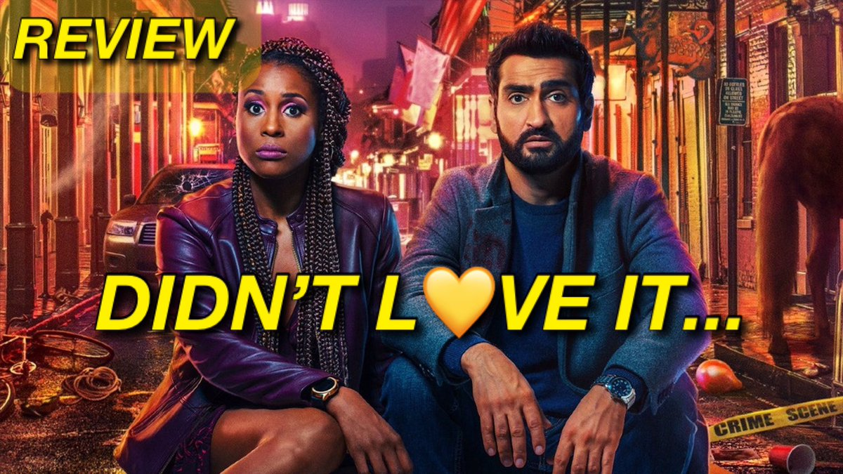 The villian is forgettable. The Lovebirds Review is live.    Kumail Nanjiani Jibran issa Rae Leilani cop police interacial couple love rom com romantic comedy #TheLovebirds #TheLovebirdsMovie #TheLovebirdsNetflix #TheLovebirdsFilm