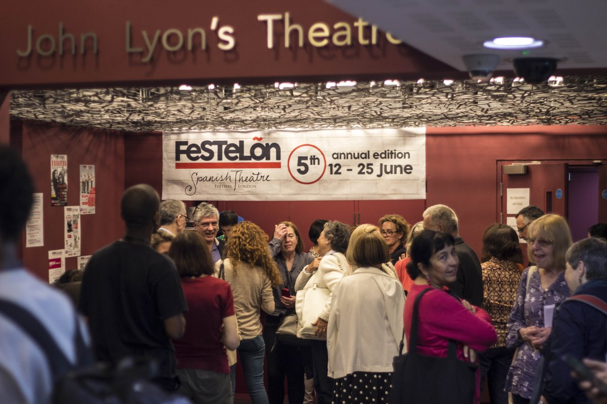 These are challenging times for theatres & FesTeLõn would not be possible without your generosity. Your kind donations help us to continue our cultural exchange mission because the show much go on! More info: https://www.gofundme.com/f/festelon-8th-edition-and-2021-activities… #teatro #londontheatre  : Fran Vergara pic.twitter.com/AGIbYmmIJl