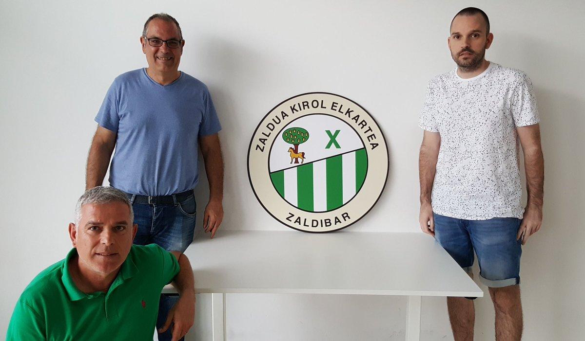 El CD ZALDUA hace oficial la incorporación de Javier López como entrenador del primer equipo. Ongi etorri, @javilopez1981 https://t.co/urpLbxFQJ5
