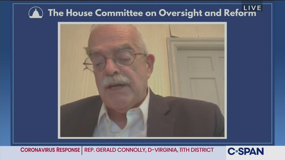 House @OversightDems @GOPoversight Cmte Member briefing with @HHSGov Inspector General Christi Grimm on Administration's Coronavirus Response - LIVE online here: https://t.co/55zywCaIeX https://t.co/9znzwnAvVs