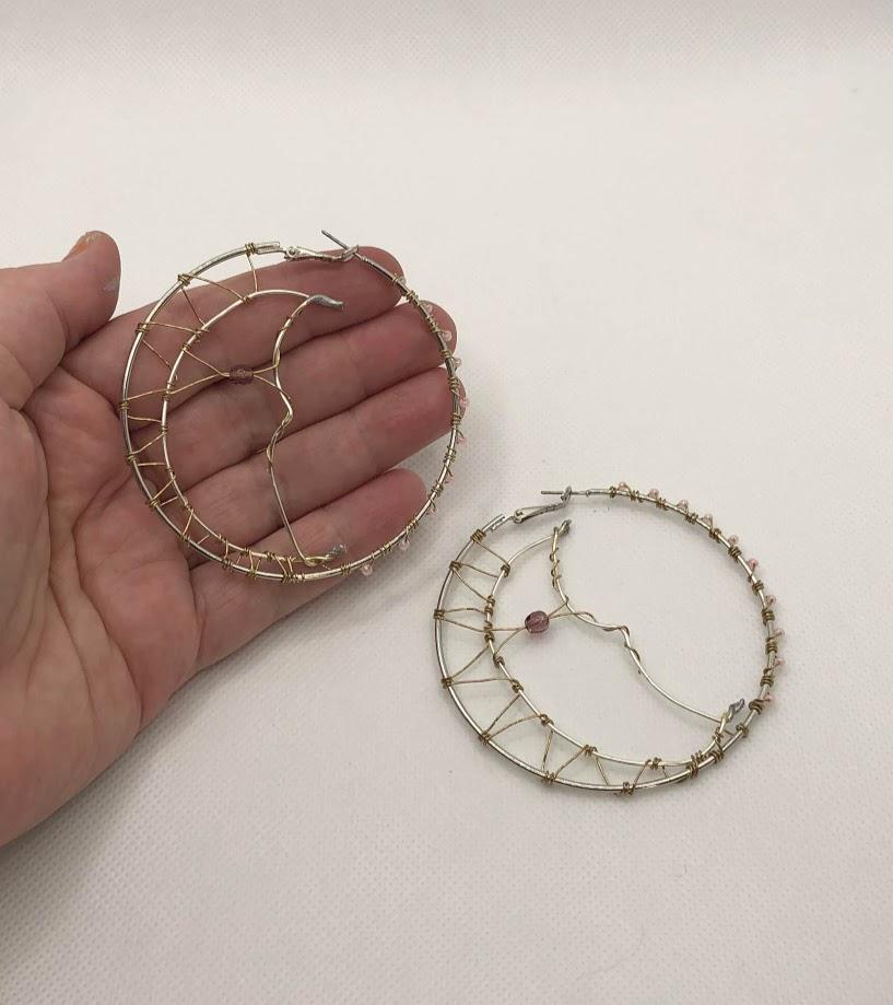 Man in the Moon Earrings    #earring #earrings #jewelry #fashion #jewellery #accessories #handmade  #bracelet #silver #earringsoftheday #earringstyle #style #love  #jewelrydesigner #jewelryaddict #earringshop #handmadejewelry #onlineshopping  #fashionjewelry #earringlove #bhfyp