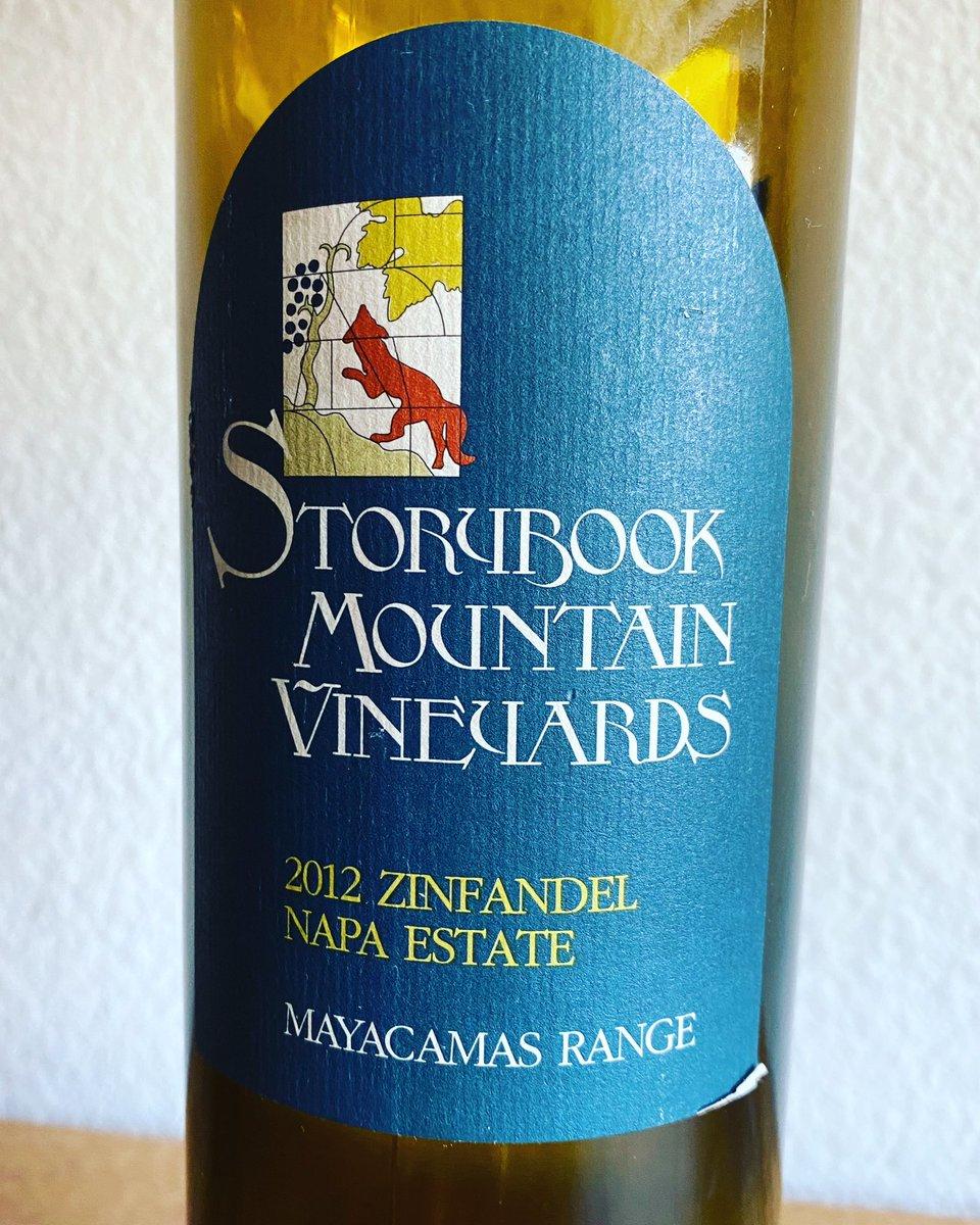 2012 Storybook Mountain Vineyards Zinfandel Mayacamas Range. I think they used French oaks and the wine had refined oak flavor. #storybookmountainvineyards #zinfandel #wine #californiawine #somm #sommelier #tbt #february2020 #ジンファンデル #ワイン #カリフォルニアワイン #ソムリエpic.twitter.com/KuHxF2rLao