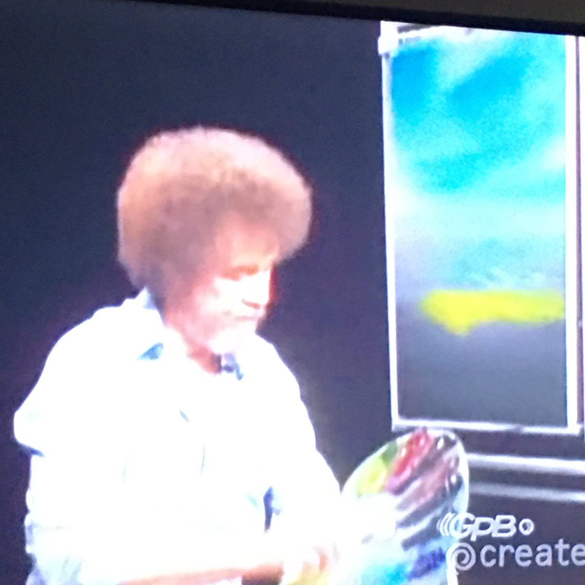 We need a little more Bob Ross in the world.