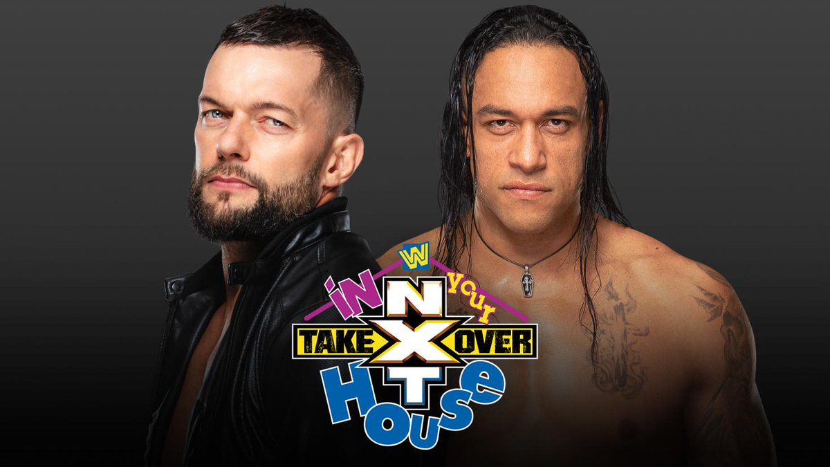 Finn Balor vs. Damian Priest set for NXT TakeOver: In Your House dlvr.it/RXNjPb