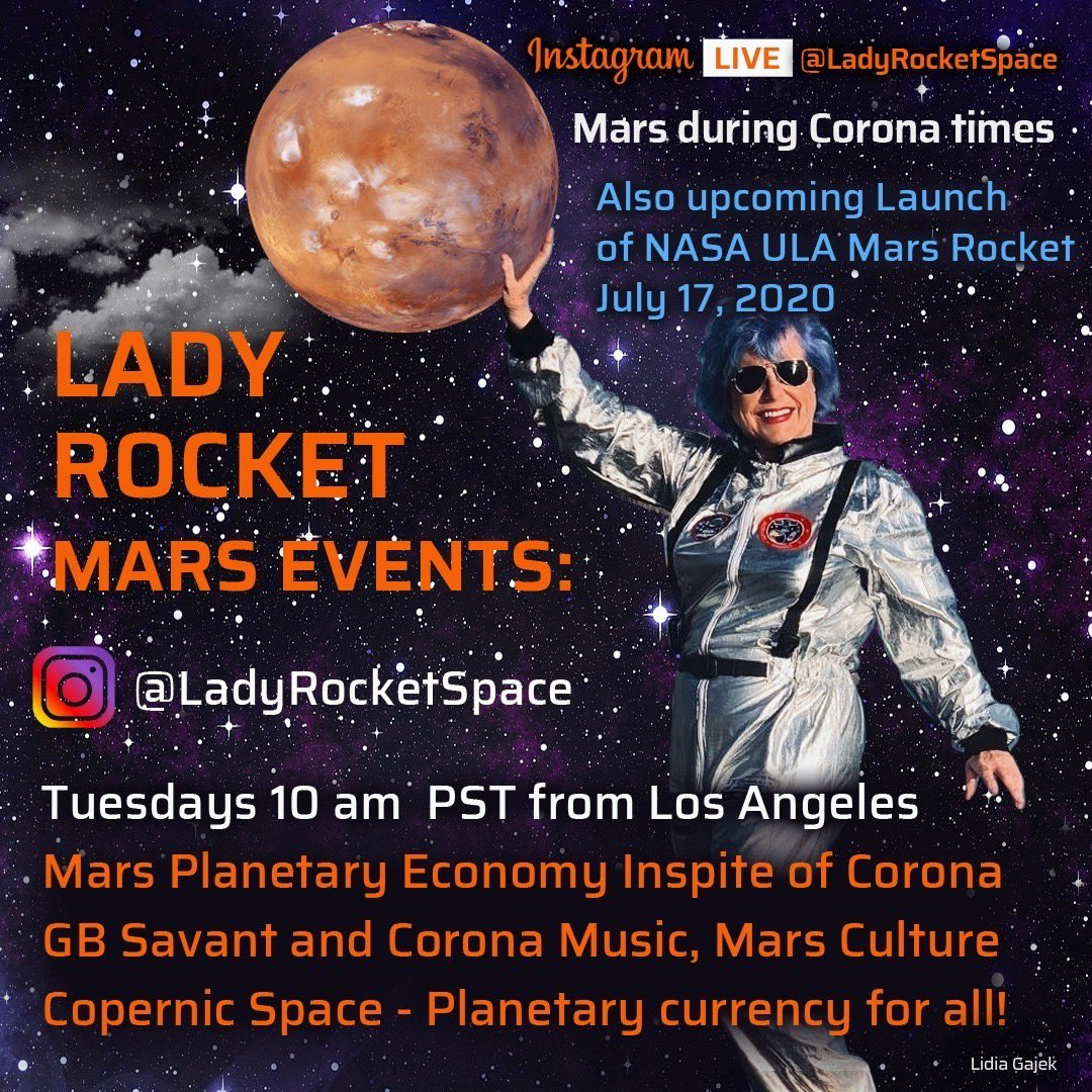 @NASAJPL from special NASA Boeing Santa Susana location today 10am  also about ULA NASAJPL launch and how to finance Mars https://t.co/hyzFjVk5U8