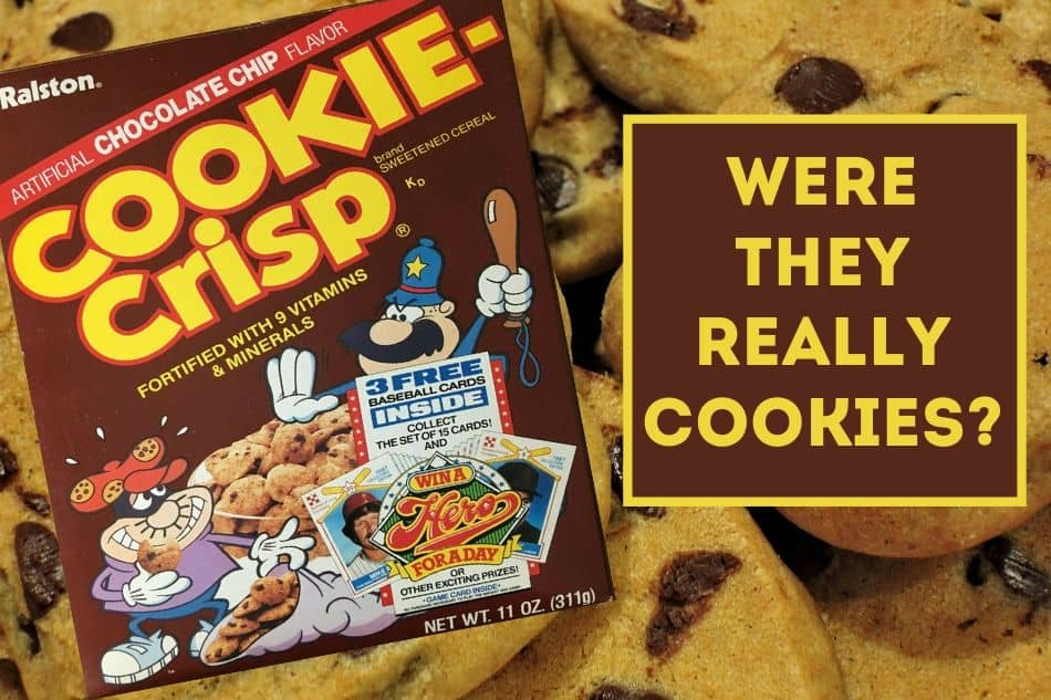 Cookie Crisp Cereal. Are They Really Cookies? #80s #retrofood #cookies #cereal #saturdaymorning https://t.co/p8DDgPpaAo https://t.co/BKVPX6sgJz