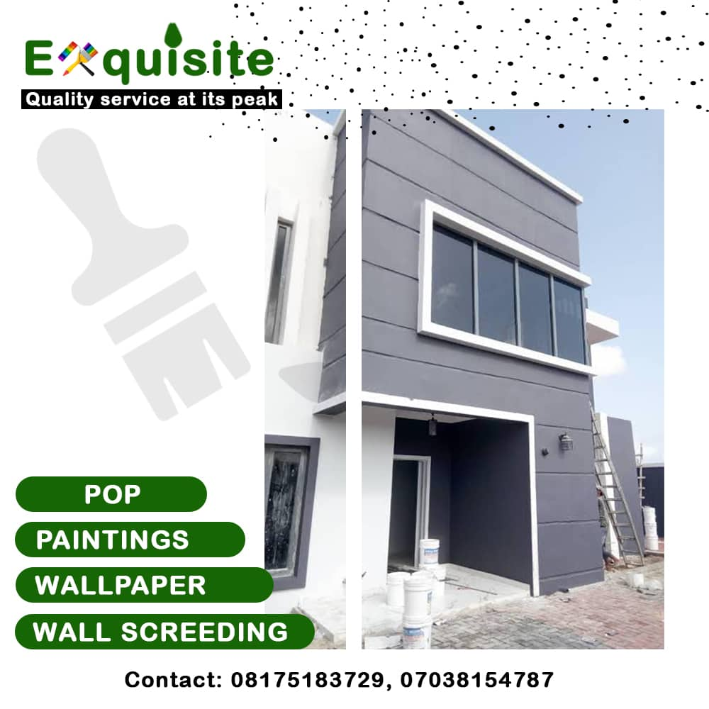 A special company equipped with excellent service to give you that top notch interior/exterior beauty  Our services are:  - Paintings - Wallpaper Installation - POP  Dm for more...   Kindly RT if this pop on your TL pic.twitter.com/Th3JVxEGf1