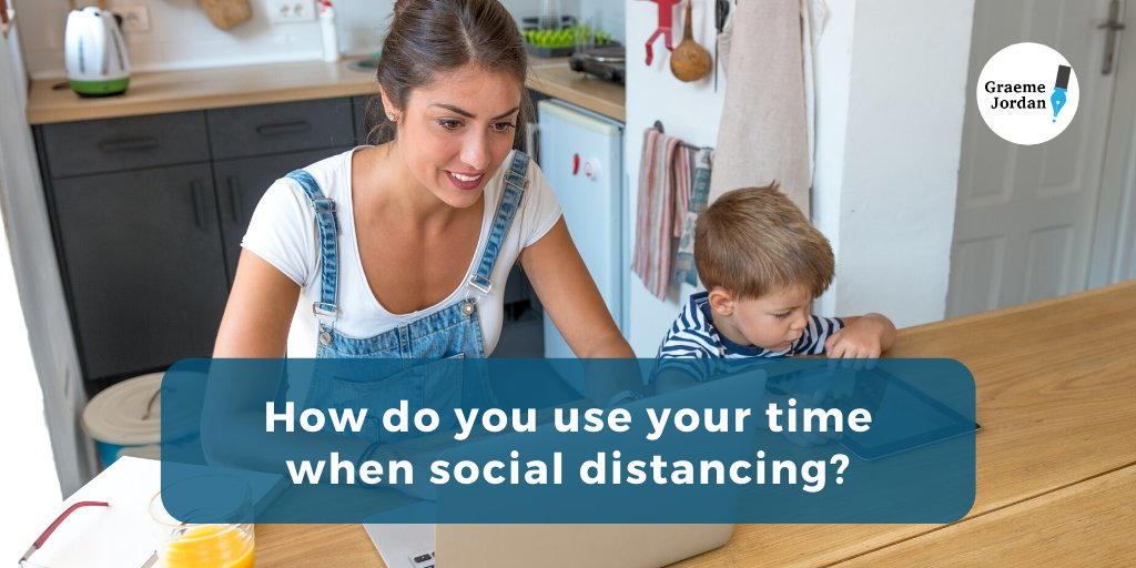 How do you spend the extra #time you get, due to #socialdistancing?  Are you using this time for #self-development ? #wfh #wfhm #newcastle #sunderland #workuk #jobuk  #manager