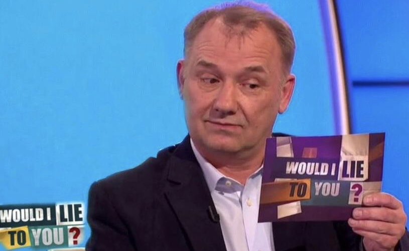 """Can't wait for this week's #WILTY """"I once took my wife & kid for a 1hour drive to test my eye sight""""."""