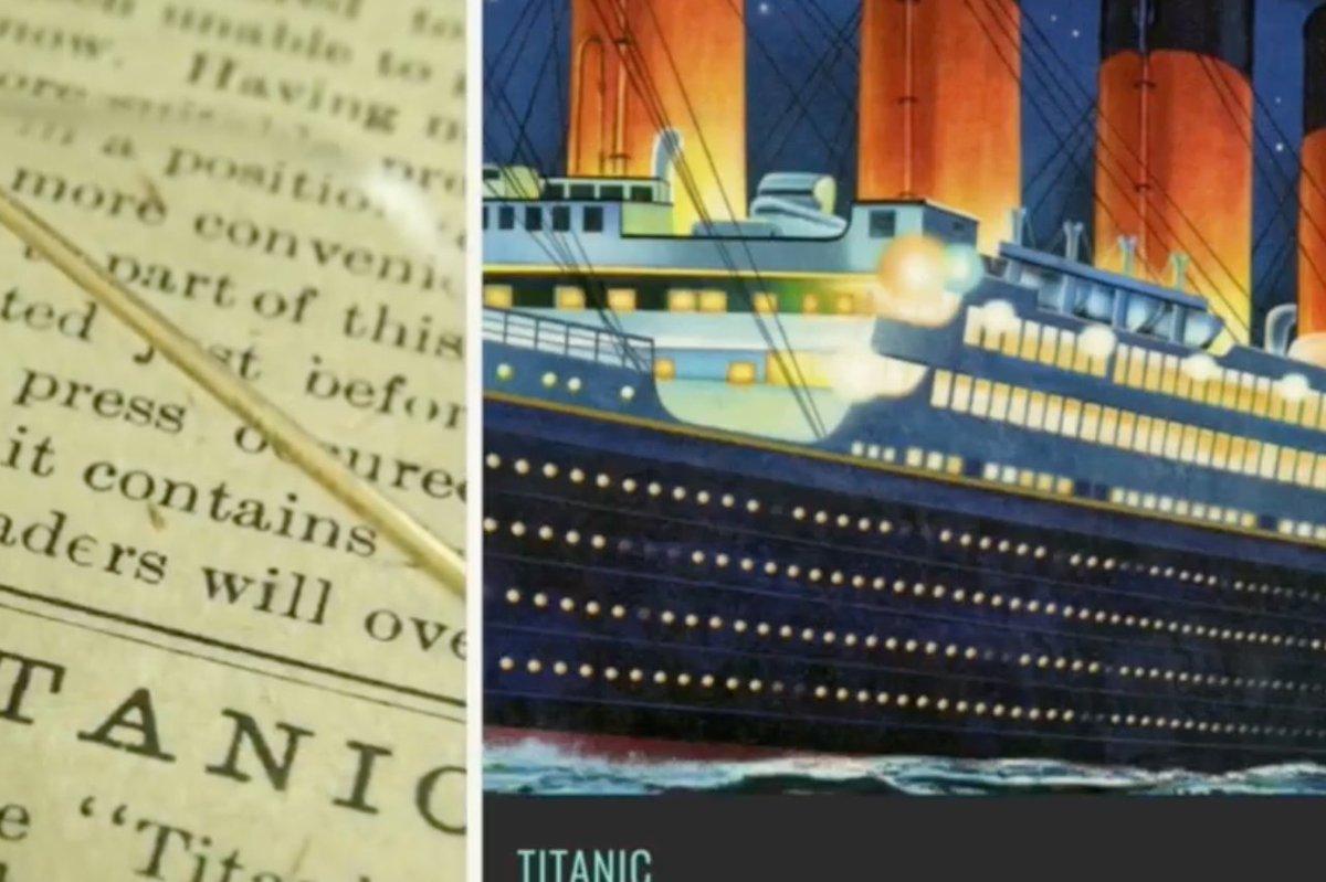 Tras 110 años de gestiones, el seguro del iceberg pagará la reparación del Titanic: https://t.co/sjV8sRYpk6 https://t.co/Z2nuL7O3yx