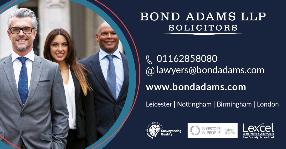 Helping our clients - Bond Adams award-winning solicitors Servicing personal, corporate, and commercial sectors Open for video meetings online. Help with government schemes, employment law, business advice. http://ed.gr/cgwph #coronavirus #businesshelp #solicitorspic.twitter.com/LatfKY6kA8