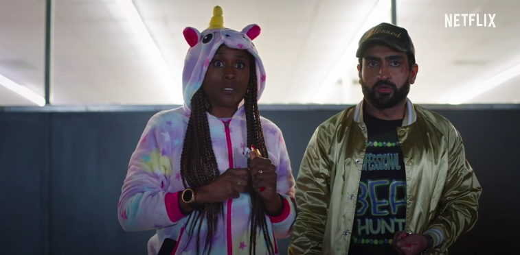 #TheLovebirds . Yes, we, too, have seen Date Night. And Game Night. And the man other movies this one borrows from.  We haven't seen those movies with Kumail Nanjiani and Issa Rae before, though, which counts for something.  Our #TheLovebirdsMovie review: