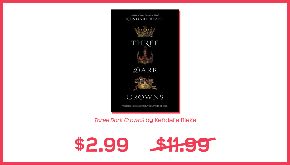 Still haven't read @KendareBlake's #ThreeDarkCrowns series? Get started now when you buy the ebook for as little as $2.99, wherever ebooks are sold! https://bit.ly/3g80Y9Epic.twitter.com/HY6lNplGEL