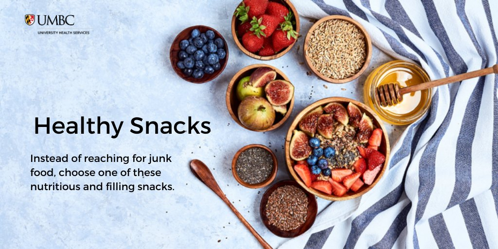 We all snack, but it isn't bad for you if you do it in moderation and make healthy choices! Try something from the list below to do both!  -Apples and pears -Carrot and celery sticks -Bell pepper slices -Zucchini or cucumber circles  #TastyTuesday #Healthysnacks #Yummyinmytummy pic.twitter.com/vVVqe5nz4Z