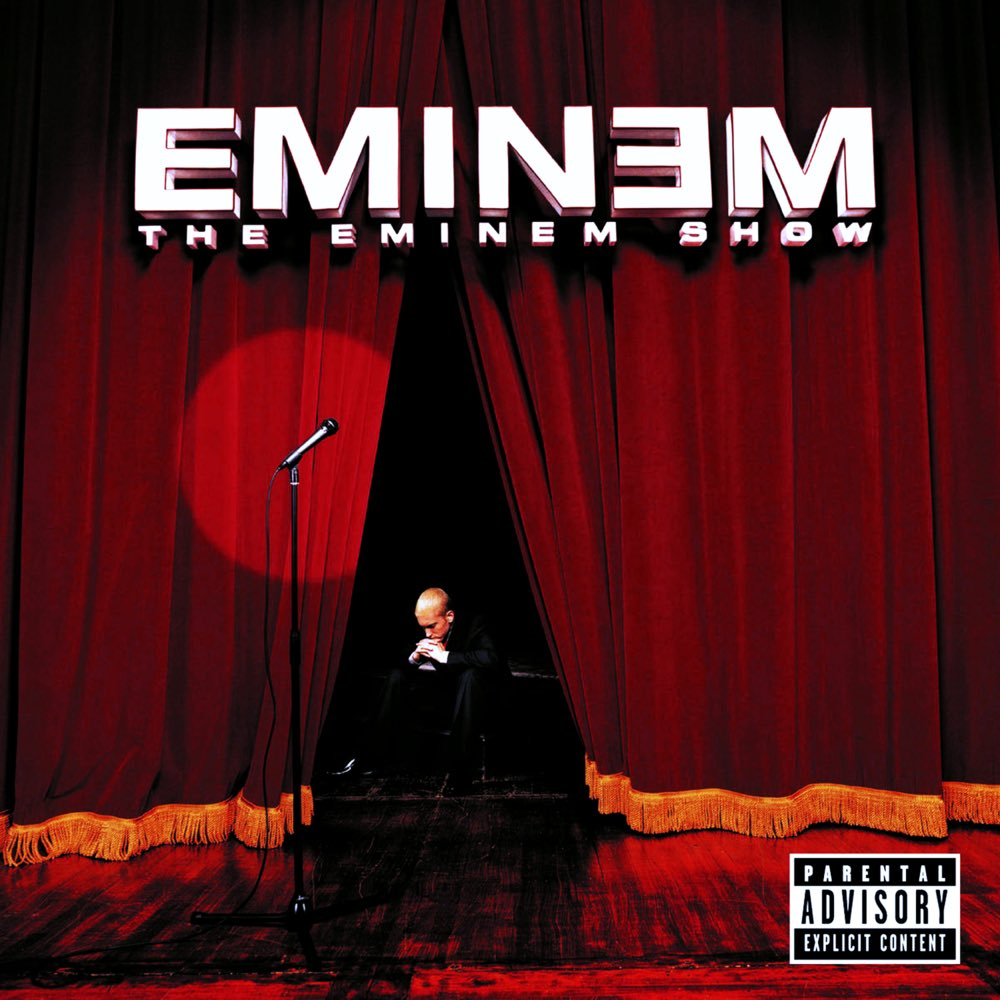 """18 years ago today, Eminem released 'The Eminem Show' featuring the tracks """"Without Me"""", """"Superman"""", and """"Cleanin Out My Closet"""". Comment your favorite song off this album below! 👇🎶🔥 @Eminem #HipHopHistory https://t.co/cRo8RKoRWb"""