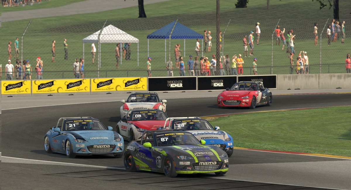 The @ricmotech @iRacing Global @MazdaRacing MX-5 Cup Championship is taking shape as the series heads to @Mid_Ohio tonight ⏩ mx-5cup.com/news/mx-5-cup-…