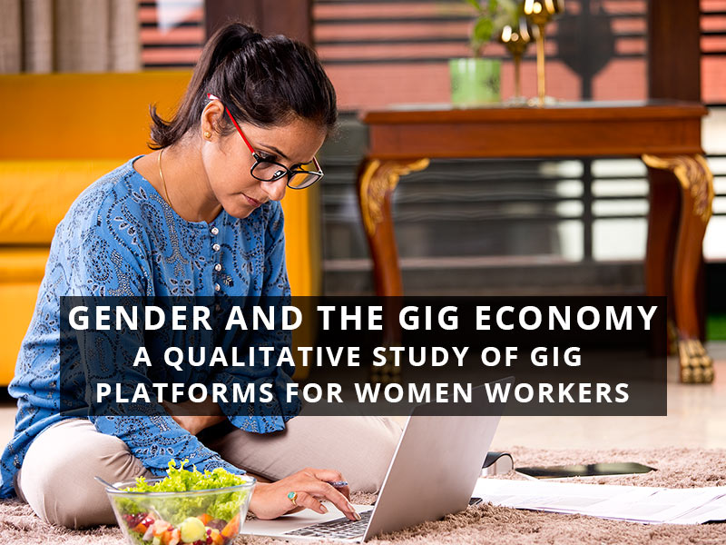 Gig work often reinforces the same gendered division of work that afflicts traditional work. Across countries, women working in the gig economy not only undertake unpaid care work but also spend just as much time on their gig jobs, points out @RiaKasliwal: https://bit.ly/3cB6bVa pic.twitter.com/spFSqsgWpN