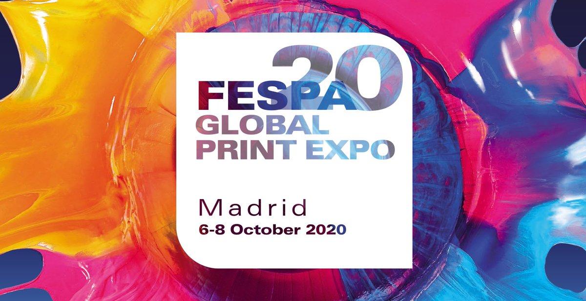 Regístrate ahora con el códigoFESN206 aquí  http://ow.ly/E3Ek50zgHi9  Te esperamos en #FESPA del 06-08 de Octubre en #Madrid, #España  #print #sublimación #serigrafía #wideformat #artesgráficas #tecnología #innovación #nuevosmercados #conferencias #digital #textil pic.twitter.com/bPzMgzQ66q