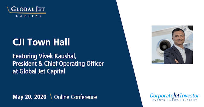 Vivek Kaushal joined industry experts to discuss private aircraft financing in light of the current pandemic during @CorpJetInvestors Town Hall online conference. View the conference replay here: hubs.ly/H0qQWDV0. #bizav #aviation #covid19