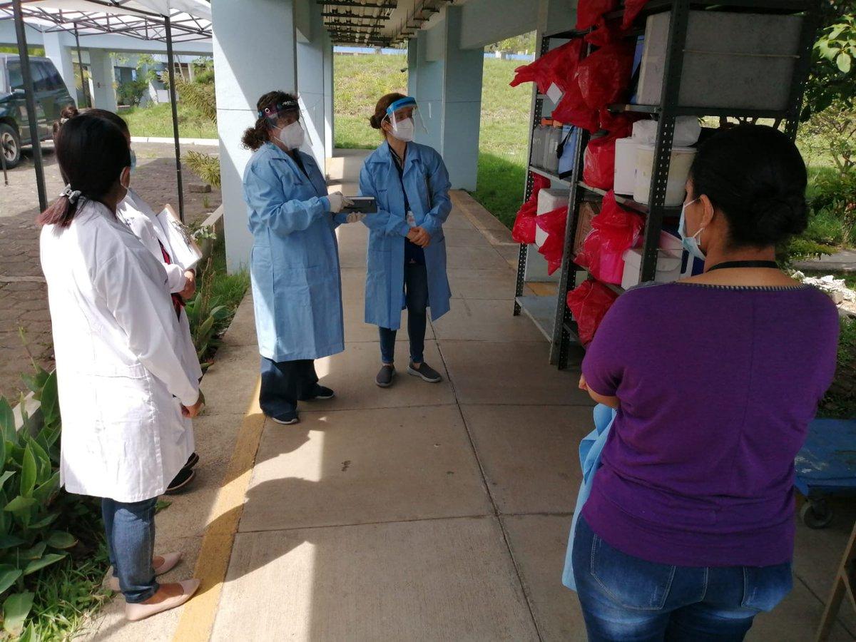test Twitter Media - Procuradora Adjunta, Claudia Maselli y Defensora de la Salud, Zulma Calderón, realizan nuevamente verificación en Laboratorio Nacional de Salud, ante denuncias por retardo y falta de entrega de resultados a pacientes diagnosticados con COVID-19.Vía: PDH https://t.co/p8r5k6zKcl