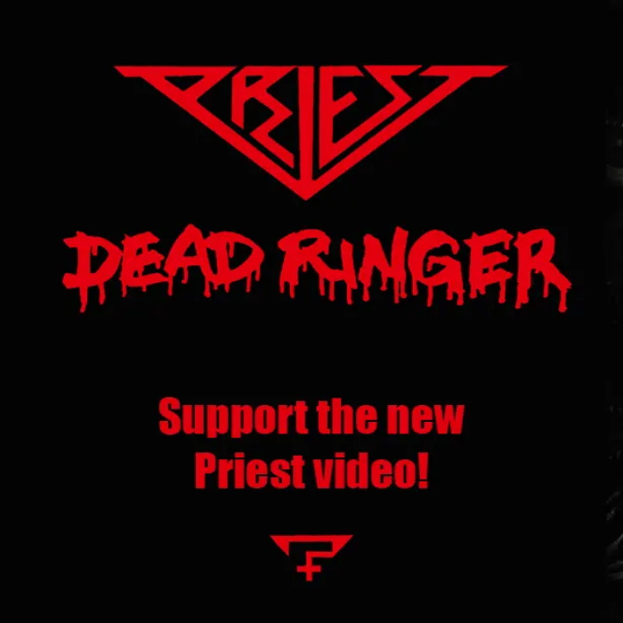 Indiegogo: Priest - Dead Ringer Video Fund  https://t.co/HaBHnZC9w7  #Musiceternal #Priest #DeadRinger #Indiegogo #Crowdfunding #MusicVideo #Synthpop #Sweden https://t.co/R39Qn7FuEu