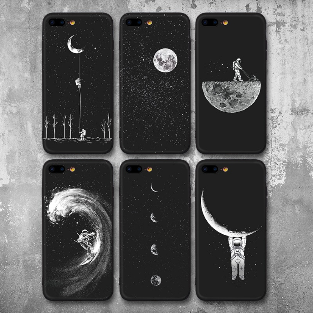 #iphone #iphoneonly #iphonesia #iphoneography Space Patterned Soft Phone Case For iPhone