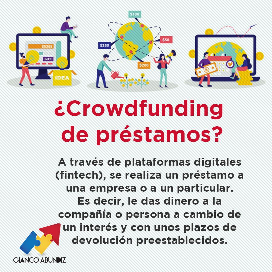 Hace un rato subí un artículo sobre #Crowdfunding, ahora les dejo aquí una modalidad de éste que se ha hecho muy popular que es la de préstamo.  Si no vieron mi artículo, les dejo el enlace aquí. ¡No se lo pierdan!  🌐👉https://t.co/nlSIjmFNHf https://t.co/zJIDIaYs7E