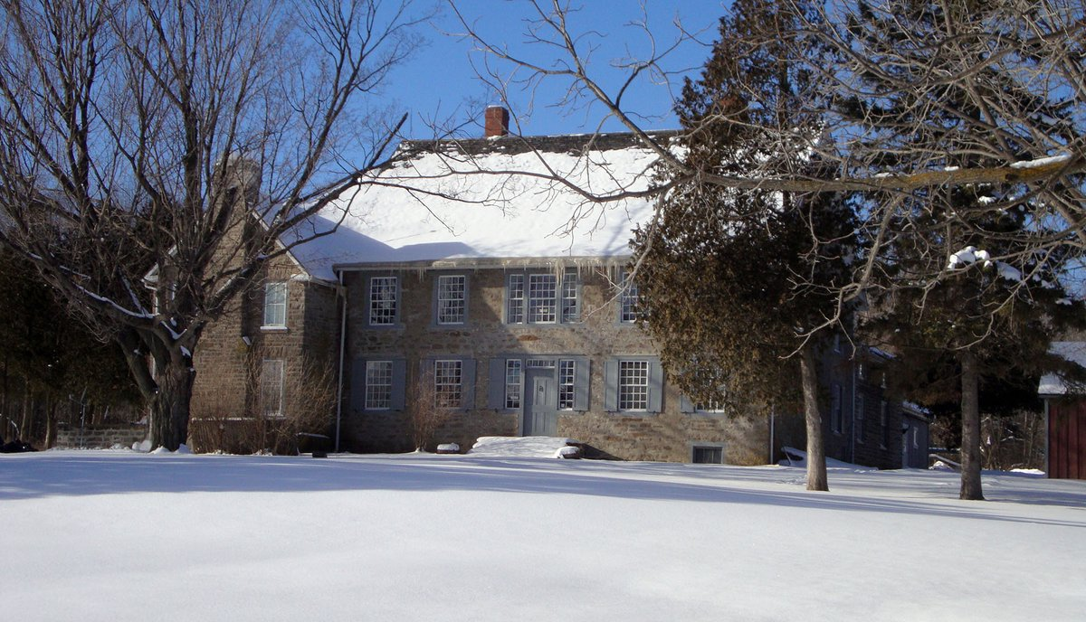 As one of Ontario's oldest houses, the Homewood Museum was constructed in the late Georgian style and shows a French-Canadian influence. With its #stone construction, Homewood still bears a great legacy within the historic Canadian heritage.  #tbt #heritage