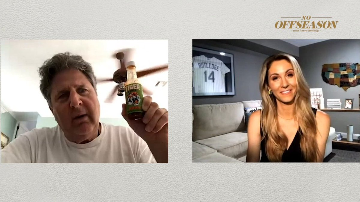 Only @Coach_Leach can make talking about gravy entertaining 😂 No Offseason with @LauraRutledge ⤵️