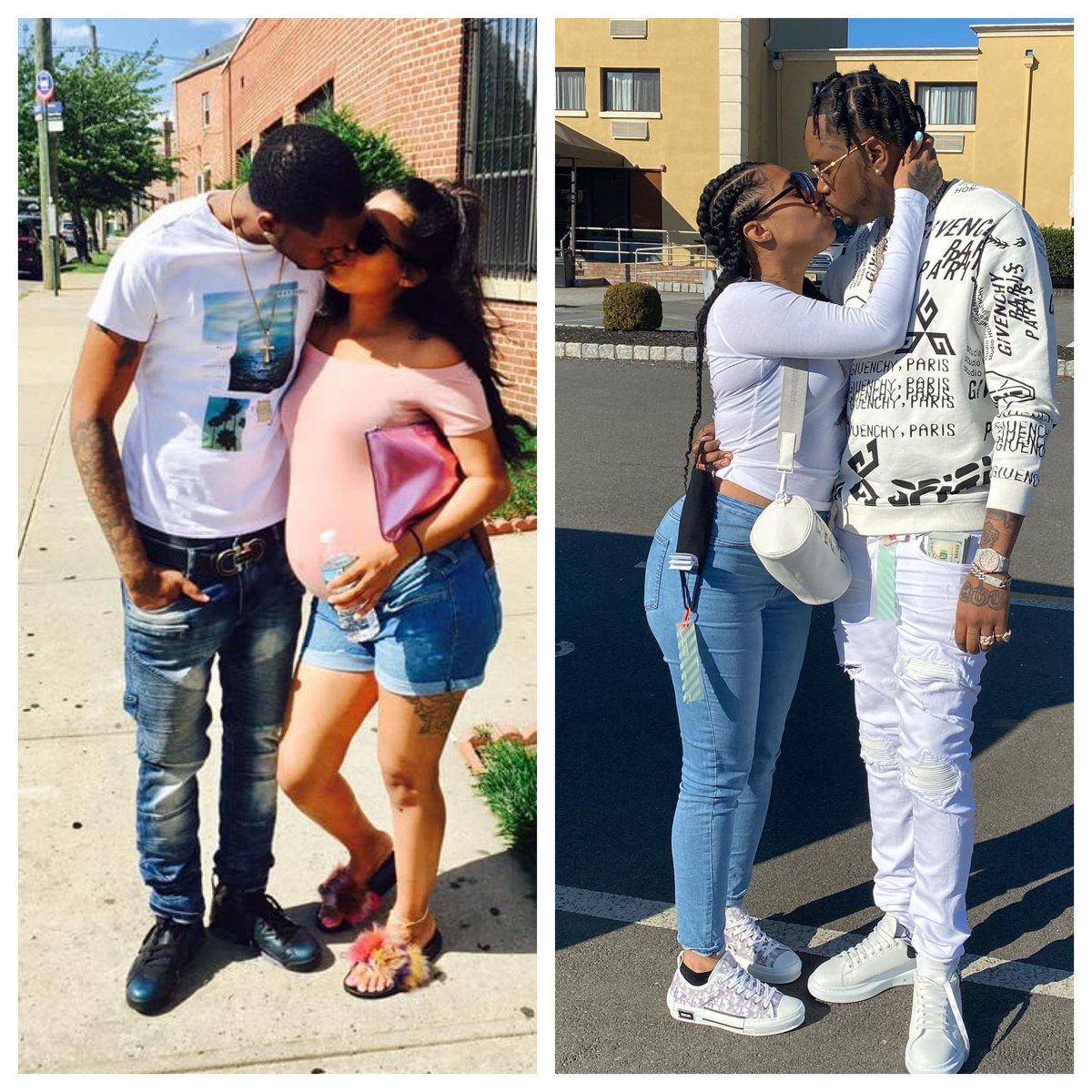 Ladies.. Stay down w yah man, Yu neva know ❗️ & we was livin inna shelter in dat first pic 🔥
