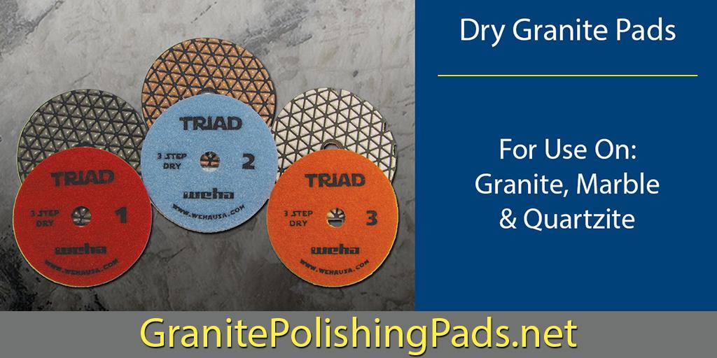 Dry #stone #polishing as easy as 1, 2, 3:  @WehaUSA