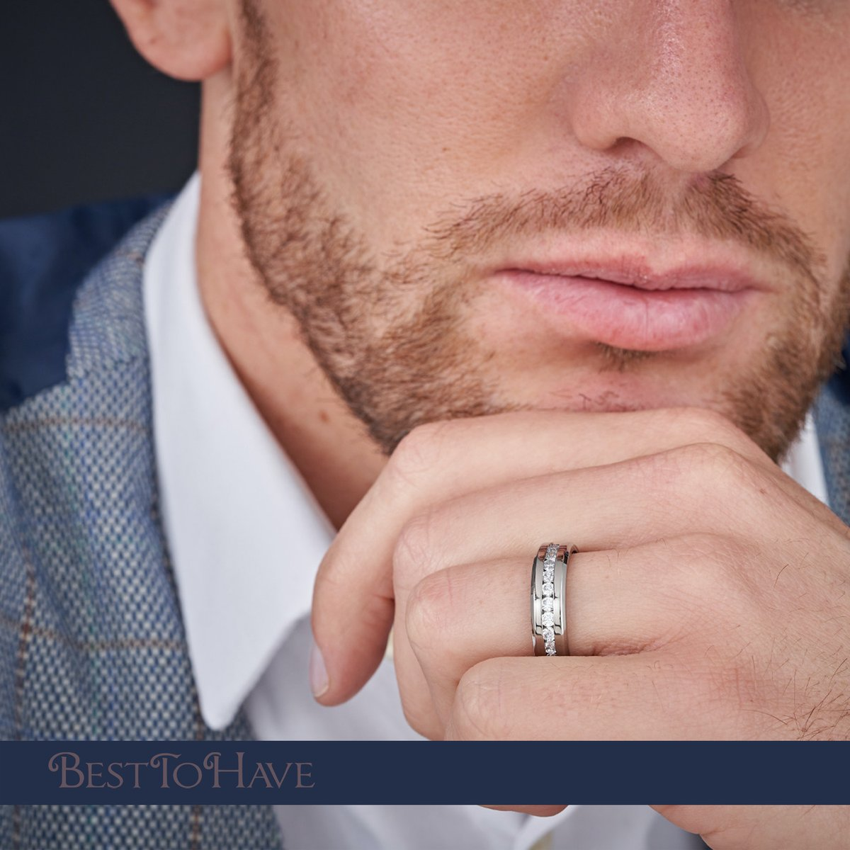 Super elegant and strong titanium ring for Him  Code: 193 £24.99  #Besttohave #Besttohavejewelry #rings #engagement #outfit #outfitoftheday #menrings #weddingrings #lovejewelry #ring #titaniumRing #titaniumjewelry #cubiczirconia #wedding #titanium