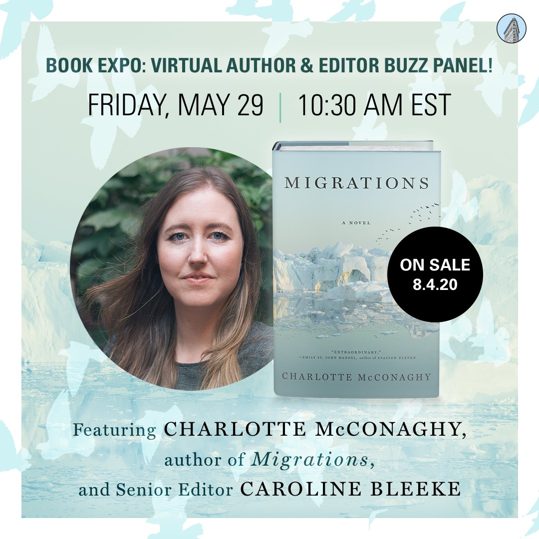 This is happening! Join @CharMcConaghy and me on Friday for a conversation about arctic terns, salmon fishing, wandering feet, love stories, climate change, and the importance of hope. Thanks @BookExpoAmerica for having us! 🐝🐝 buzz buzz