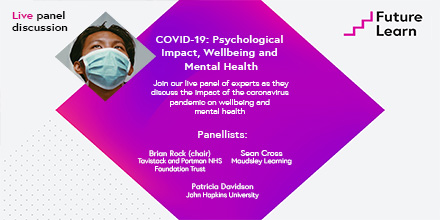 Join this live panel discussion about the psychological impact of #COVID-19 on our YouTube page this Thursday at 1pm BST - https://t.co/cw4wkYuRFf  The panellists: @brianmr51, @nursingdean and Dr Sean Cross from @maudsleylearn.  More details here: https://t.co/FSrjy1YPVa https://t.co/NuAWKS5Dph