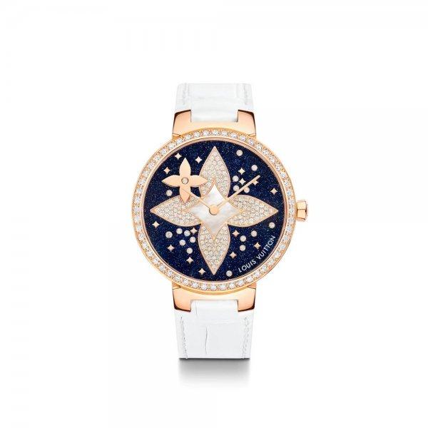 ساعة Tambour Slim Star Blossom