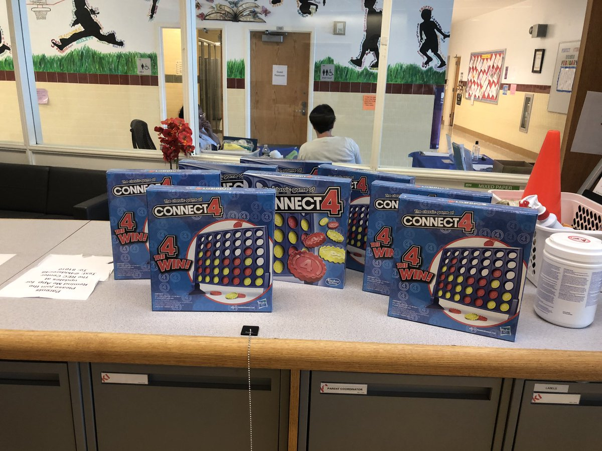 Thank you @RMAHughes for donating connect 4 games to the REC! We appreciate you!!! @SIBOD31