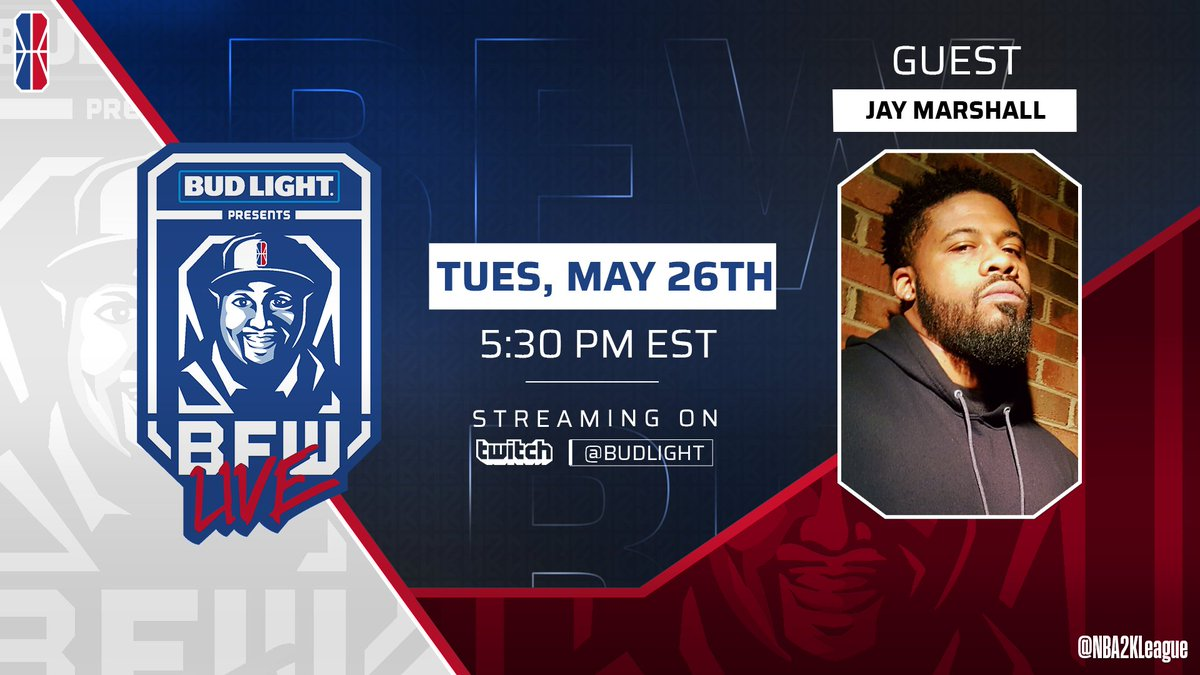 Shoutout to @JayMarshallMSC for joining us on BFW Live Presented by @budlight today!! 🔥  BE THERE at 5:30 pm/et! https://t.co/QO7C0zpQoy https://t.co/UlE6Kdpr19