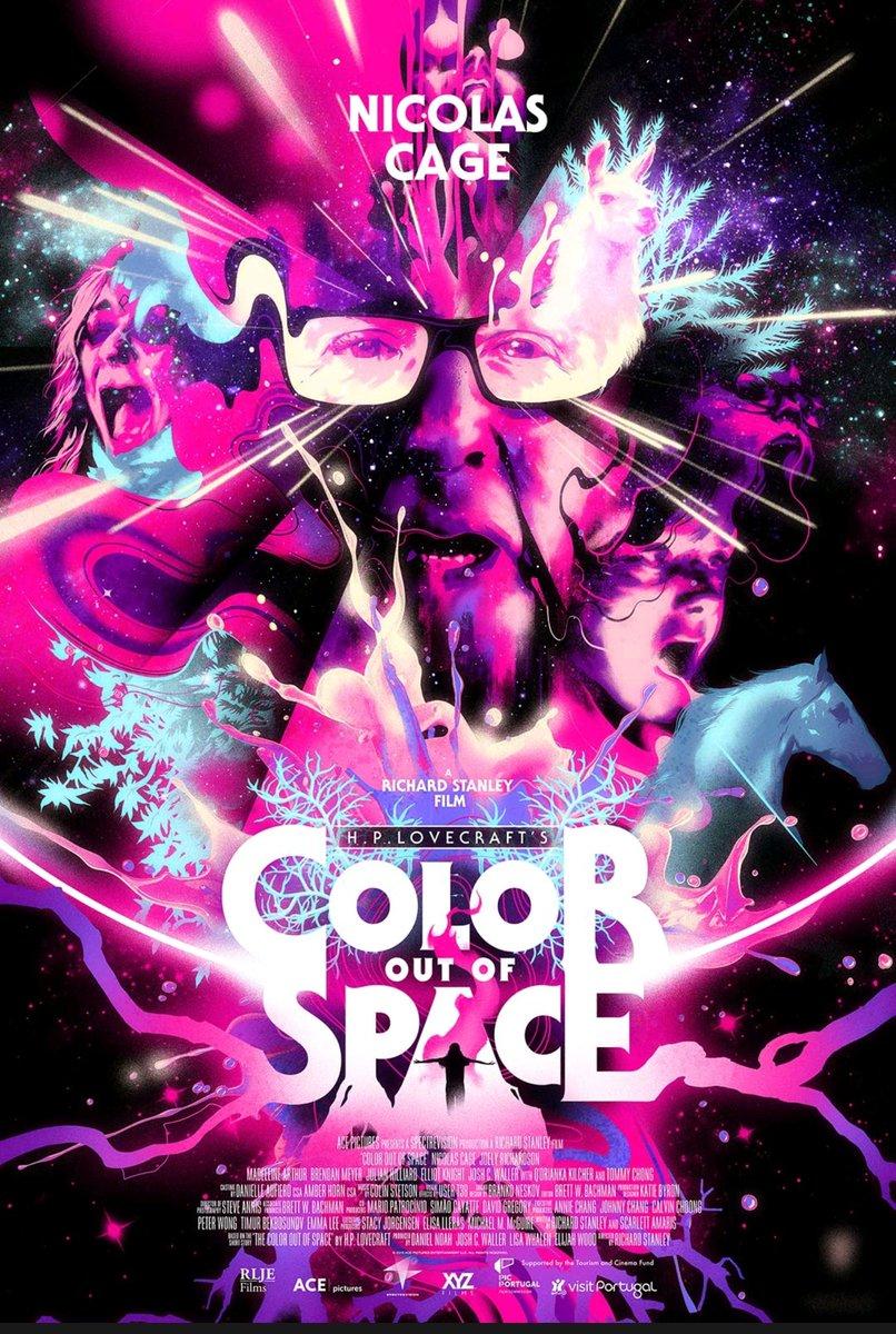 Dagens filmtips: Color out of space Baserad på en novell av H.P Lovecraft