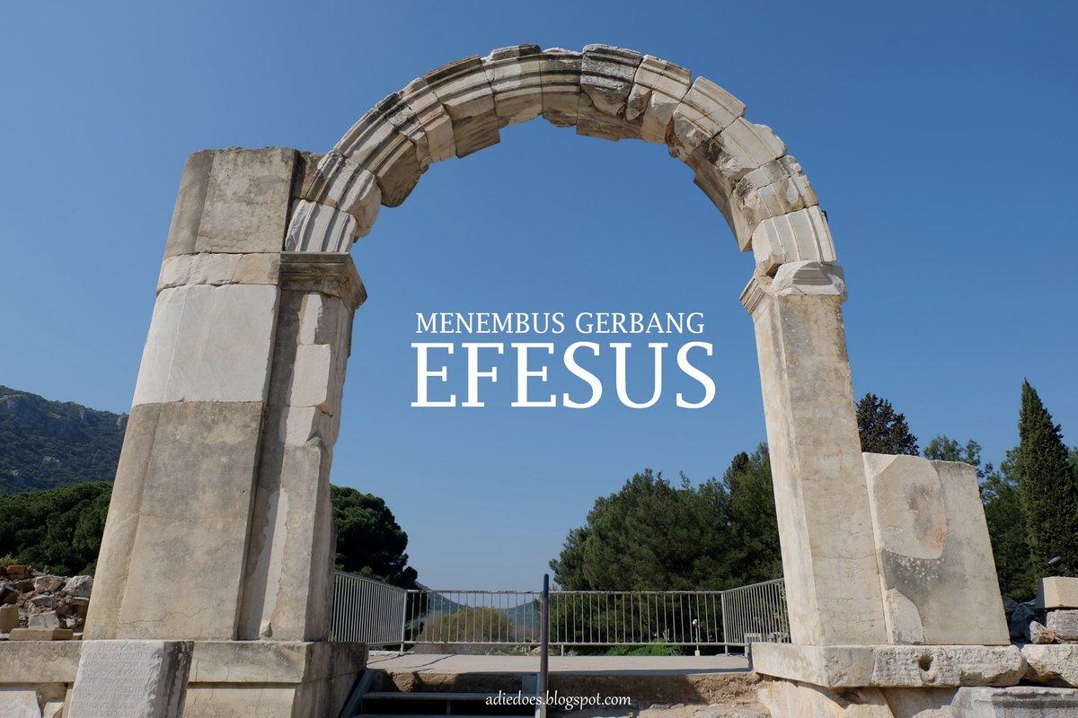[NewPost] Menembus Gerbang Efesus 🏟️ . Dari situs uzur, perpustakaan terlengkap ketiga di masanya, hingga simbol yg menginspirasi jenama peralatan olahraga, Efesus merekah menjadi destinasi yang mengawetkan aura kejayaan masa silam.🍂🍁 . https://t.co/Rx2iwS0p3A . #travel #Efesus https://t.co/IiBSH7qgxL