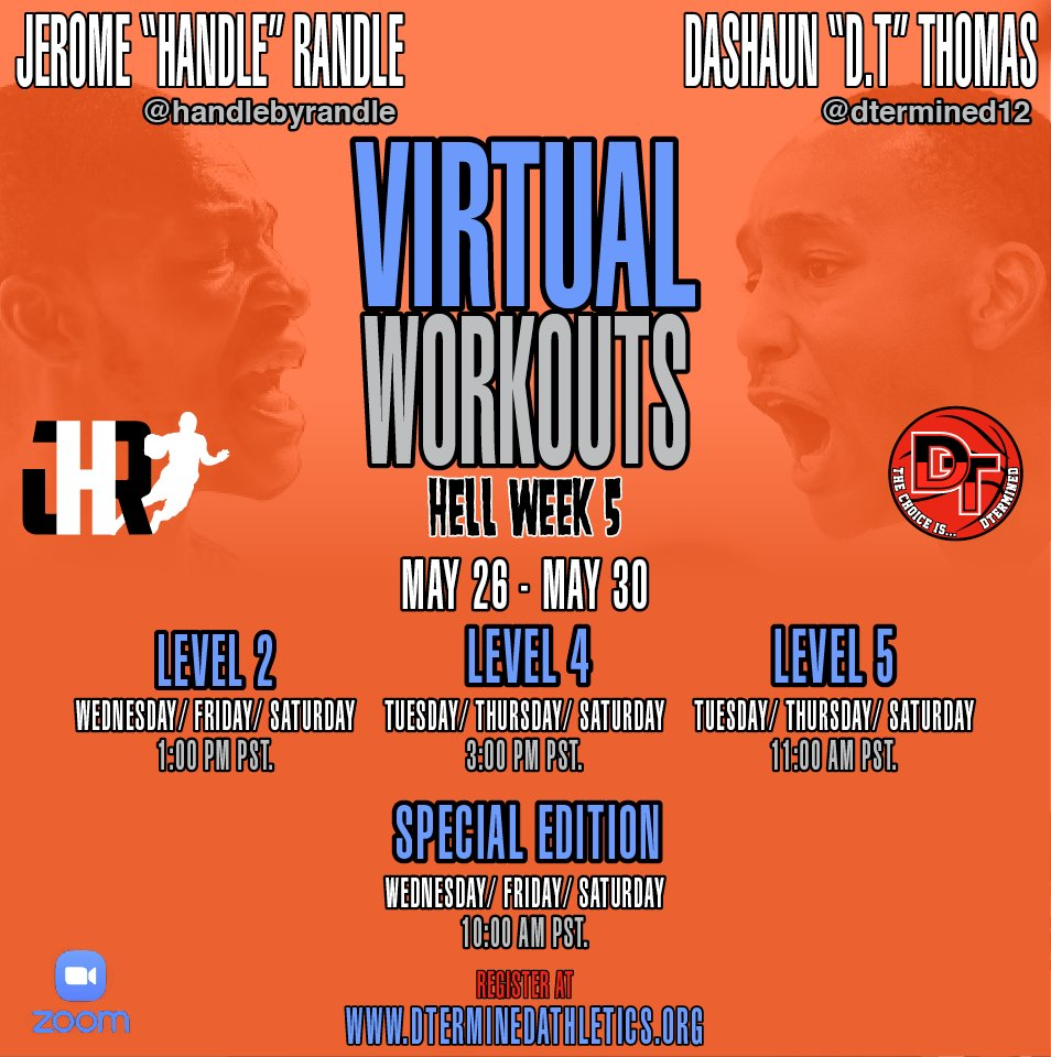 My son Kolin Turner is starting Level 4 today.   Best virtual workout program out here for basketball.  I highly recommendthisprogram.  @DTermined_  @DTermined12 @DTerminedathletics @handlebyrandle https://t.co/qtk4ZvwhEd