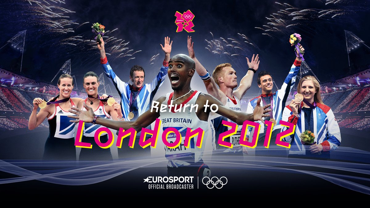 Rewind to #London2012 🇬🇧 @Eurosport_UK are reliving the glory this week, so head on over to Eurosport 2⃣ or Eurosport Player to watch on demand! Catch #Taekwondo & other combat sports from 2-7pm GMT this Friday 🗓️🥋 #ReturnTo2012