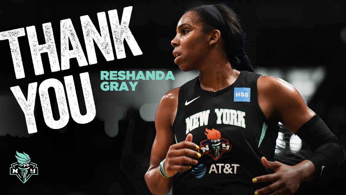 New York Liberty waive Reshanda Gray. Marine Johannés and Han Xu to Remain Overseas in 2020. Read more on roster movements at https://t.co/0wk4D1OluJ https://t.co/uwfZo4aibK