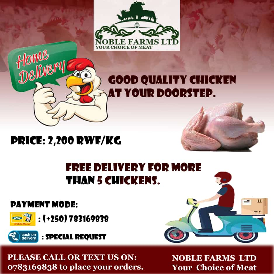 You want your chicken at your doorsteps,  say no more. NOBLE FARMS LTD is here for you. Just place your order, and they bring it you. 5 or above orders  are free.<br>http://pic.twitter.com/aFIYfidOrc
