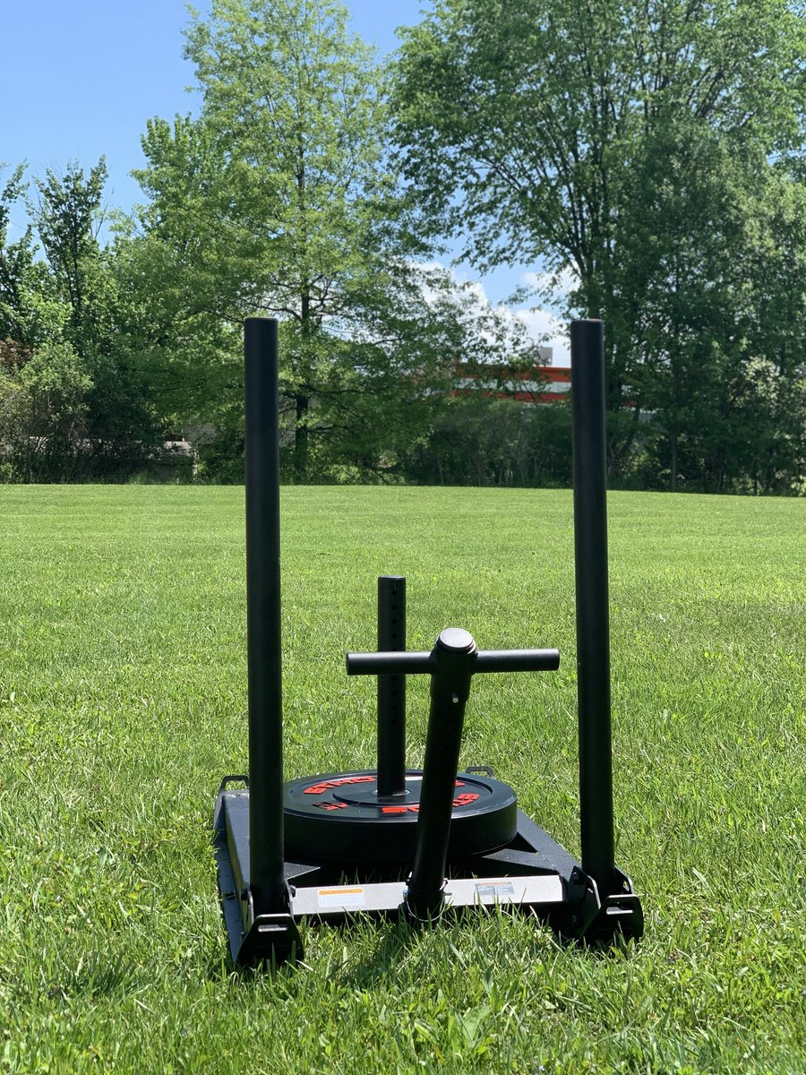 Had a great Sled workout today in the heat! #FitFam #FitnessMotivation #Ethospic.twitter.com/Tu5XeZodNi