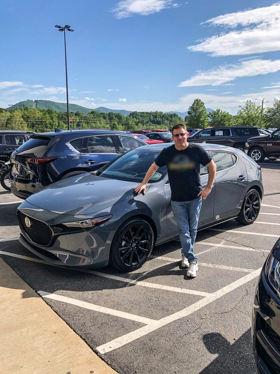 Congrats & thanks to our recent customers on their new #Mazdas! To Mr. Sardella, Mrs. Abusoud & Mrs. Putnam on their new Mazdas! All worked w/ our Team Members, Chad Mock & J.R. Richardson. Thanks for choosing the #FieldsAuto Group! #FieldsMattersBecauseYouMatter  #asheville #nc