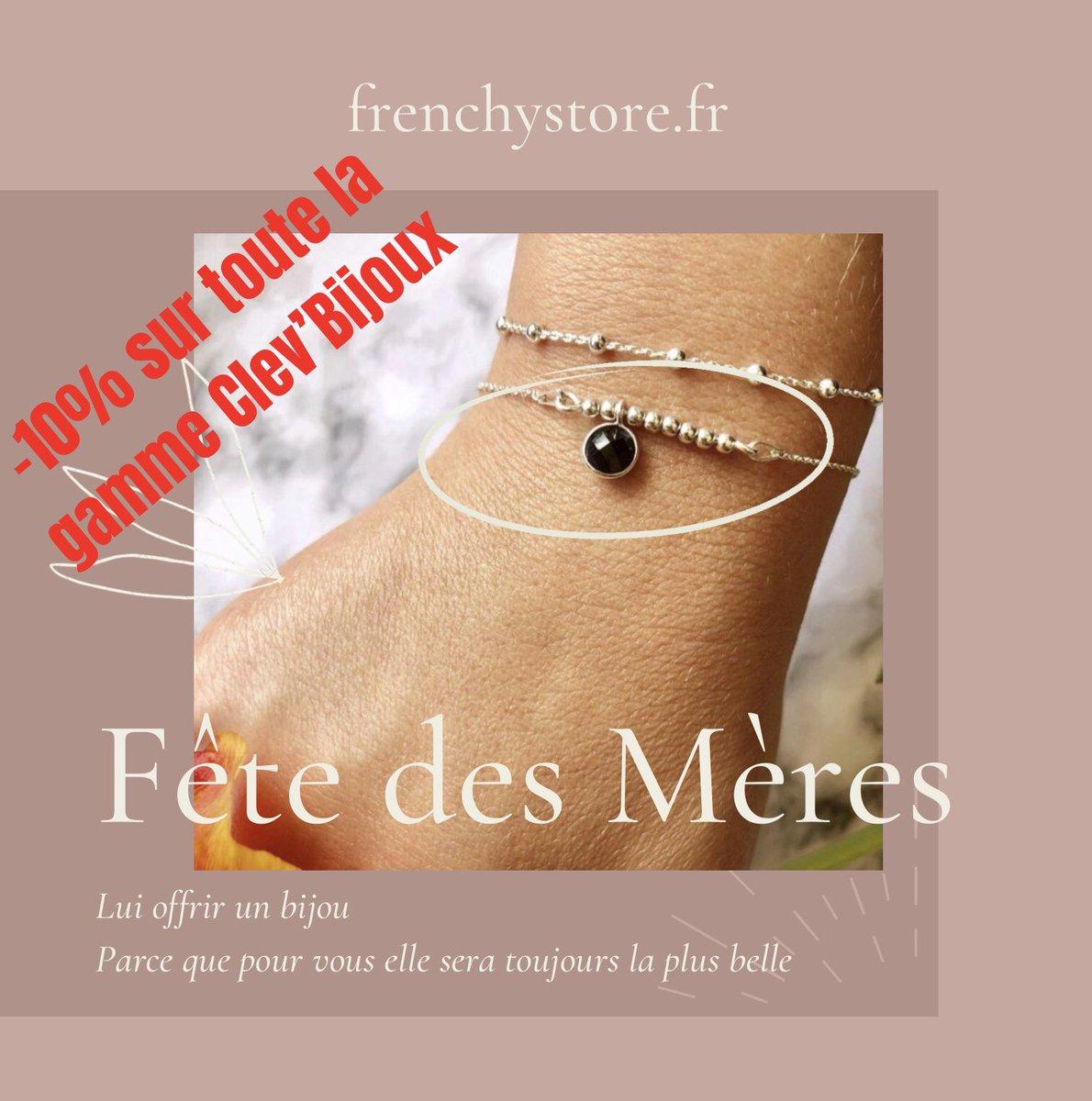 🍀Pour la Fête des Mères, remise de 10% sur tous les modèles Clev'Bijoux sur   #fetedesmeres #madeinfrance #artisanatfrancais #bijoux #bijouxcreateur #bouclesdoreilles #bracelet #braceletoftheday #famille #collier #ideecadeau